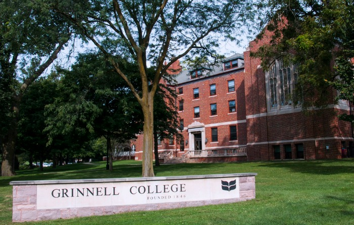 Grinnell College in Grinnell, Iowa